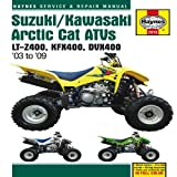 Suzuki/Kawasaki, Artic Cat ATVs 03 to 09, Haynes Manuals Editors, 1563929104