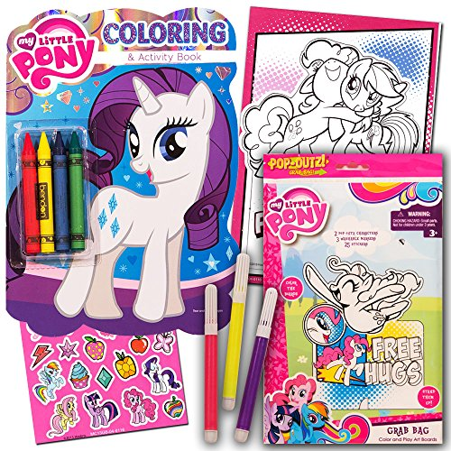 my-little-pony-coloring-book-with-stickers-take-n-play-set-shaped-foil-cover-pinkie-pie-coloring-boo