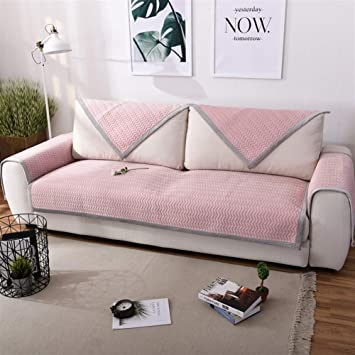 Amazon.com: Liveinu Multi-Size Plush Warm Couch Cover Non ...