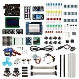 arduino starter kit deluxe - SainSmart UNO R3 Starter Learning Kit with Tutorial for Arduino-Deluxe Edition CHIKU