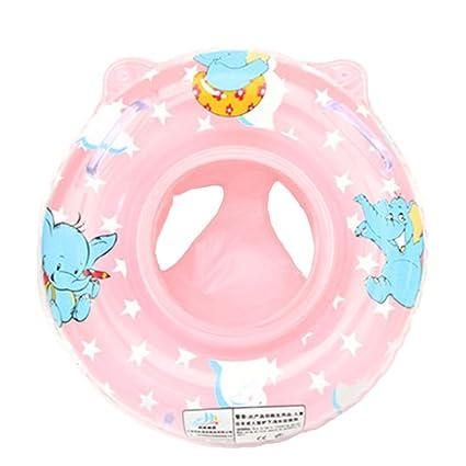 Uleade inflable del niño del bebé de la manija de seguridad del asiento del flotador Anillo