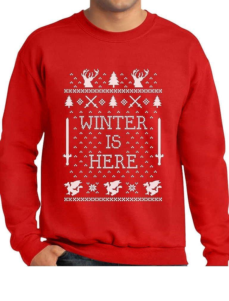 Winter Is Here ugly Christmas Coming Ugly Christmas Sweater Sweatshirt GhPharhgf