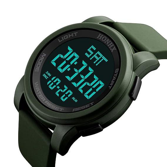 Kinlene Digital analógico relojes para hombres - deportes al aire libre reloj,impermeable electrónico analógico Sport muñeca relojes para adolescentes ...