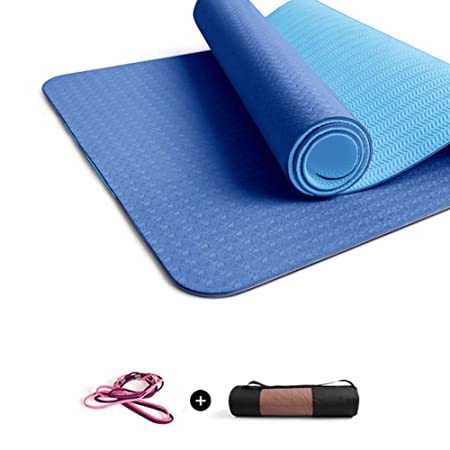 MXDCYYJD Colchoneta de Yoga, TPE ensanchada y Engrosada ...