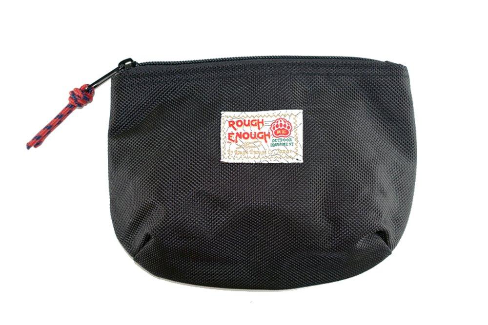 Rough Enough Soft Nylon Big Portable Storage Pouch Bag Case Accessories Organizer Electronics Accessory Organization Travel Cable Management Bag Toiletry Skincare Shaving Dopp Kit Cosmetic Bag