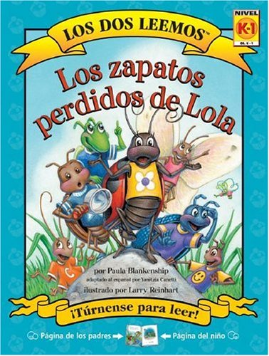 Los Zapatos Perdidos De Lola (Los Dos Leemos) (Spanish Edition) by Treasure Bay Inc