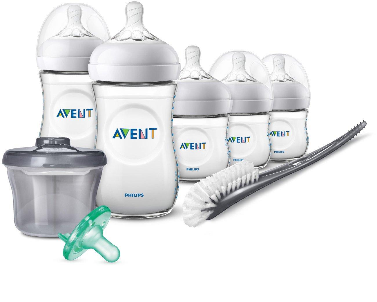 Philips Avent Natural Baby Bottle Newborn Starter Gift Set SCD206/02