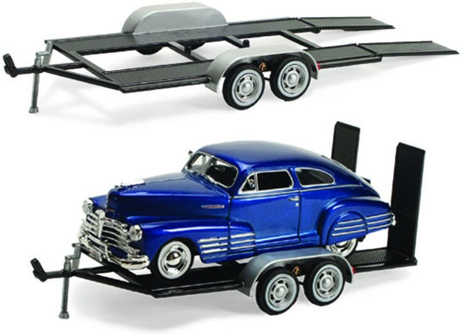 Trailer Car Carrier - Motormax 76001 - 1/24 scale Diecast Model Toy Car by Motor Max