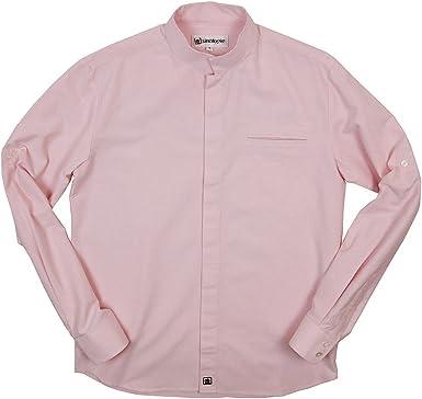 Sinologie - Camisa de vestir - cuello mao - para hombre ...