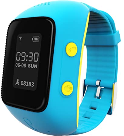 Amazon com: BURST GPS Phone Watch - Blue: GPS & Navigation