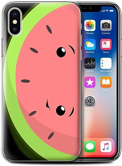 STUFF4 - Funda para teléfono móvil, diseño de piel Watermelon ...