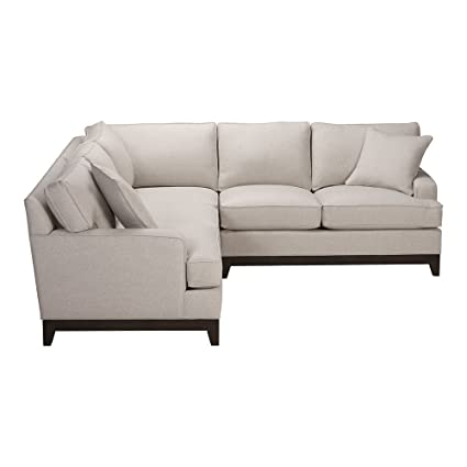 Amazon.com: Ethan Allen Arcata Three Piece Sectional, Hailey ...