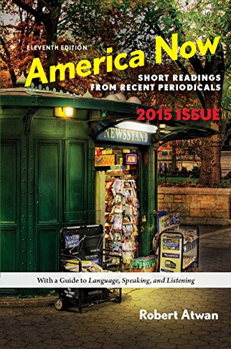 Download America Now High School Edition: Short Readings from Recent Periodicals Pdf