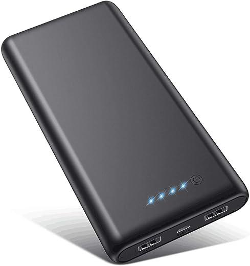 VOOE Power Bank 26800mAh,【Alta efficienza - Altissima capacità】 Carica Batterie...