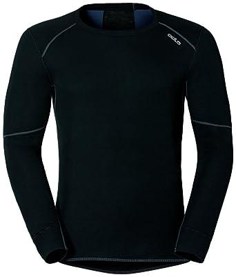 Odlo Sleeve X Shirt WarmSport Herren Long Crew Neck XZkiuTOP