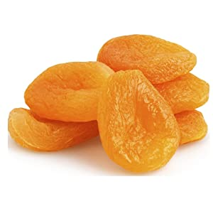 Jumbo Dried Apricots,Turkish Apricots, JUMBO, SIZE #1 ready to eat resealable bag (3 LB)