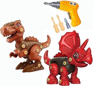 Bausteine Triceratops Dinosaurier Spielzeug Figur Geschenke Kinder