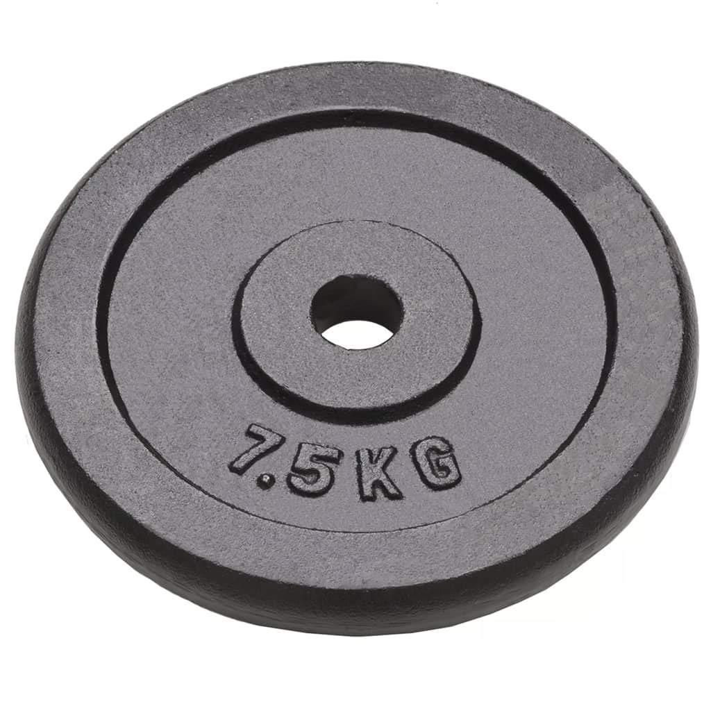 Xingshuoonline - Discos de Pesas (4 Unidades) Pesas Cortas de ...