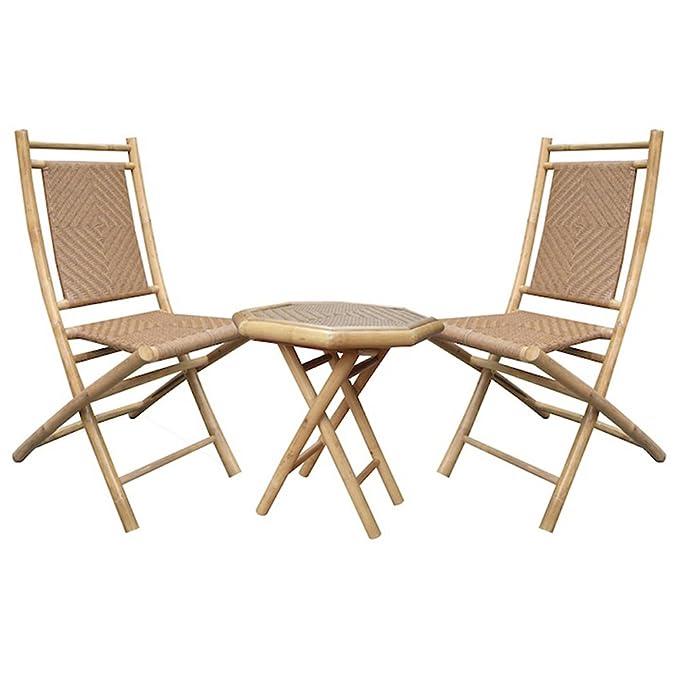 Amazon.com: Heather Ann Creations 3 piezas Bambú Juego de ...