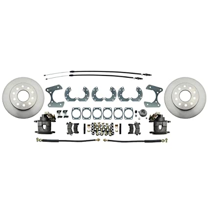 Amazon com: Speedway 8 & 9 Inch Fits Ford Disc Brake Conversion Kit