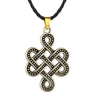 Amazon Jczry Men Celtic Knot Irish Necklace Pendant Celtic