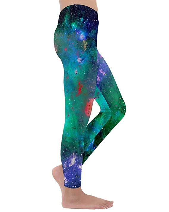 08cb11bb1ab16 PattyCandy Big Little Kids Velour Leggings Starry Night Galaxy Space Celestial  Sky Arts Soft Comfy Unisex Tights at Amazon Women's Clothing store: