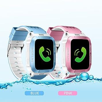 AngelaKerry niños SmartWatch GPS, reloj inteligente, SIM ...