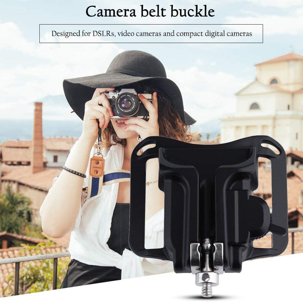 Mandalaa Universal Camera Waist Belt Buckle Quick Strap Holster Hanger Button Mount Fast Loading for All DSLR SLR Video Camera Honeycomb Cover Speed Grid