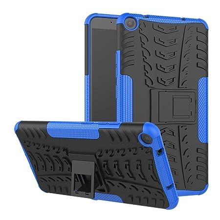 FullProtecter Funda Lenovo Yoga Tab 3 Plus Tablet Grados Caso Caja Azul, Anti-Choquesy Anti- Arañazos Silicona Case para teléfonos móviles Antigolpes ...