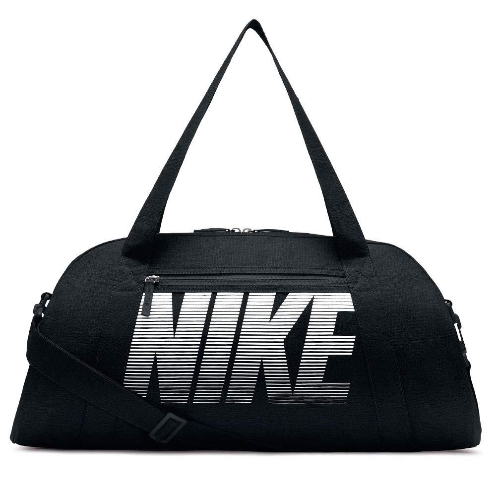 Nike Womens Gym Club Bag Black/Black/White One Size BA5490-010