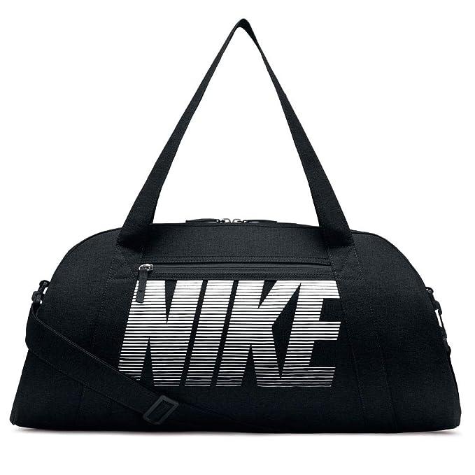 Nike Womens Gym Club Bag Black/Black/White One Size