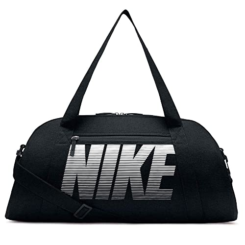 912c6f460f81 Amazon.com  Nike Womens Gym Club Bag Black Black White One Size ...