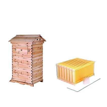 VEVOR 7Pcs Auto Flow Bee Comb Beehive Frames Auto Flow Honey Plastic ...