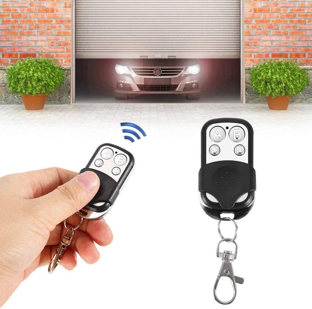 Cloning Remote Control Signal 433MHZ Car Garage Door 4 Clones Universal Wireless Fob Remote Key