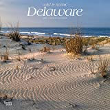 Delaware, Wild & Scenic 2019 12 x 12 Inch Monthly Square Wall Calendar, USA United States of America Southeast State Nature