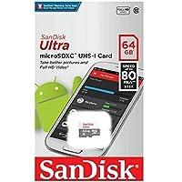 Cartão de Memória SanDisk Micro SD, 64Gb