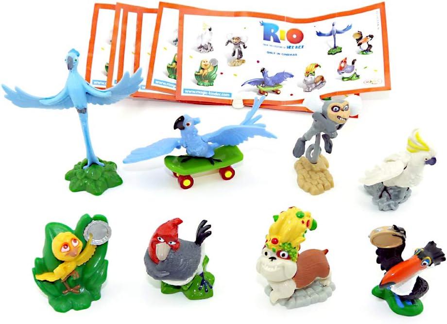 Kinder Überraschung Set Completo de Sorpresa para niños con 8 BPZ ...