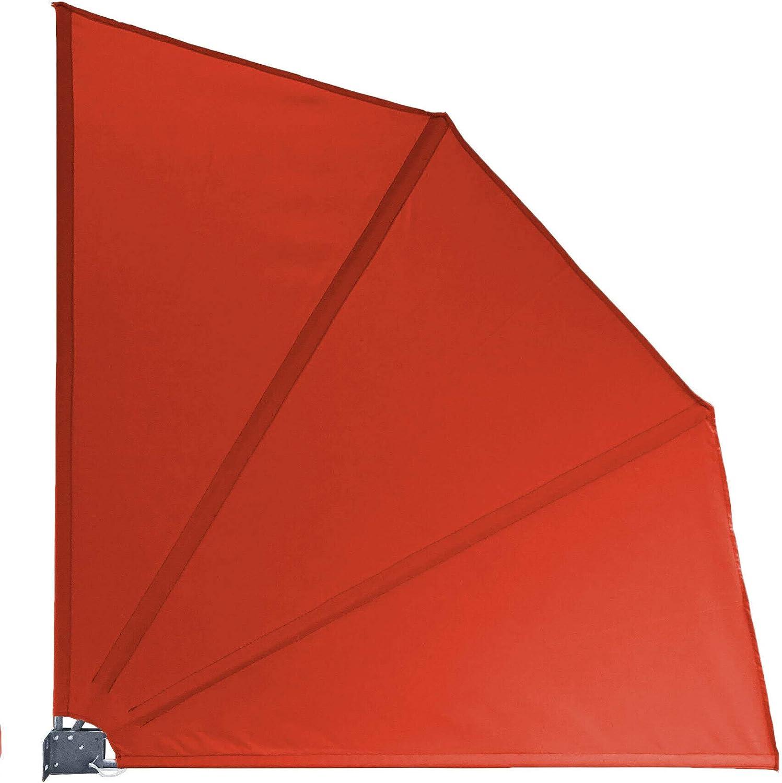 QUICK STAR in Tessuto Paravento per Balcone 115 x 115 cm Colore: Terra