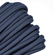 Solid Colors Paracord - Type III Parachute Cord - Foliage Green - 50 Feet
