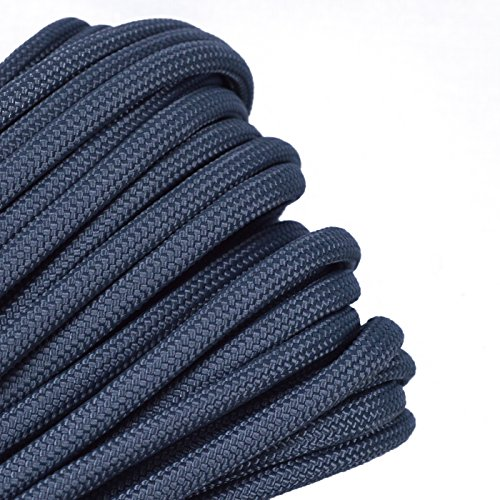 Solid Colors Paracord - Type III Parachute Cord - Foliage Green - 100 Feet