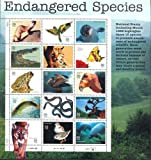 Endangered Species Collectible Sheet of Fifteen 32 Cent Stamps