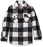 #5: Wrangler Toddler Boys' Authentics Long-Sleeve Plaid Fleece Shirt