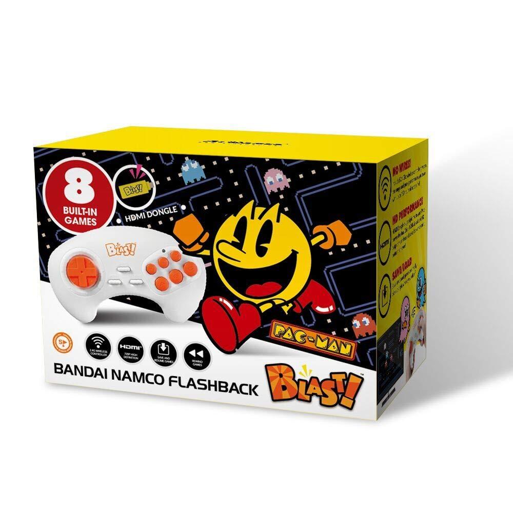 Bandai Namco Flashback Blast HDMI 8 built in games Pac Man Galaga /& More