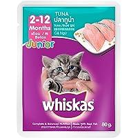Whiskas Kitten Tuna in Jelly, Pouch, 85g x 24