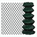 "K&A Company Chain Fence 2' 7"" x 82' Green"