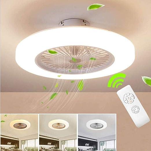 Ventilador de techo invisible LED Lámpara Techo de iones negativos ...