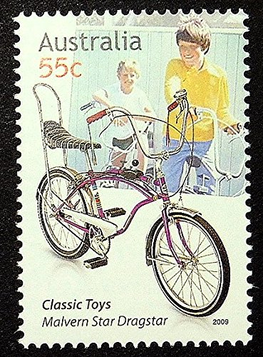 malvern-star-dragstar-bicycles-australia-framed-postage-stamp-art-16411