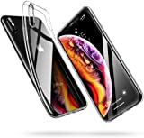 ESR Clear Case for iPhone XS/X Case, Slim Soft TPU Gel Case Flexible Silicone Cover [Supports Wireless Charging] for 5.8 inch iPhone XS/iPhone X, Clear