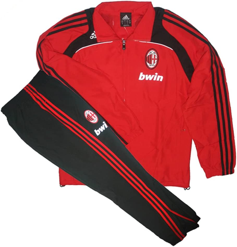 adidas - Milan Chandal ENTRENO RO 08/09 Hombre Color: Rojo Talla ...