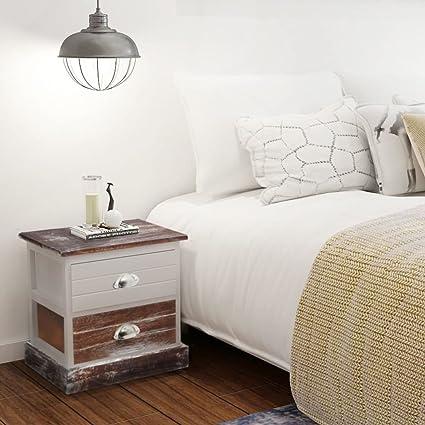 XINGLIEU mobili per camera da letto shabby chic comodino ...